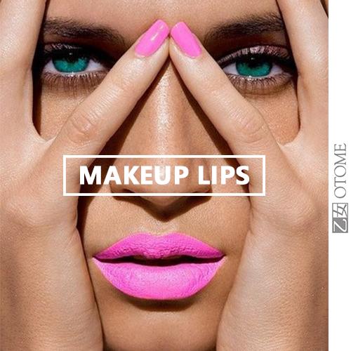 Летний макияж губ